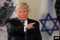 Дональд Трамп в Израиле