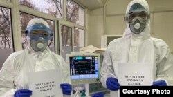 Казахстанский челлендж врачей во время первой волны коронавируса — доктора просили людей оставаться дома.