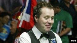Действующий чемпион мира - шотландец Джон Хиггинс в Телфорде выступил неудачно, проиграв в первом же круге