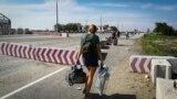 КПВВ «Чонгар» на админгранице с Крымом. Архивное фото