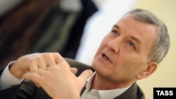 Пресс-конференция владельца компании «Рольф» Сергея Петрова. Архивное фото
