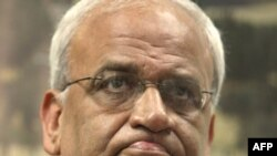 """Chief Palestinian negotiator Saeb Erekat has dismissed the alleged documents as """"a bunch of lies."""""""