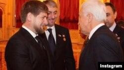Рамзан Кадыров и Владимир Васильев