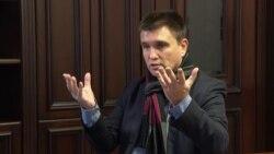 Klimkin: Ukraine Becoming Part Of U.S. Domestic Politics Is 'Worst Possible Development'