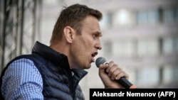Российский оппозиционный политик Алексей Навальный.
