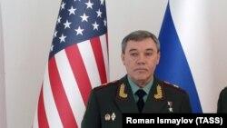 Глава российского Генштаба Валерий Герасимов в Баку