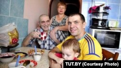 Юры Рубцоў у сям'і