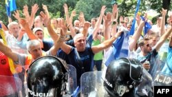Protestat në Sarajevë