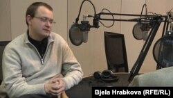 Прогонетиот белоруски политичар и поранешен претседателски кандидат Алеш Михалевич.