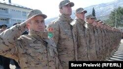 Vojska Crne Gore se priprema za pristupanje NATO-u