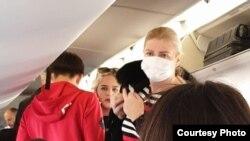 Putnici na letu Podgorica- Beograd, 10. mart 2020.