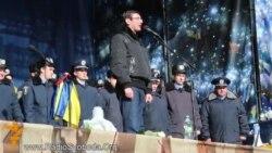 Близько сотні правоохоронців Львівщини прибули у п'ятницю до Києва на захист Майдану