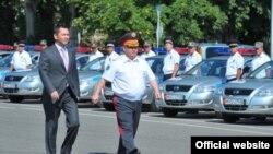 Премьер-министр Омурбек Бабанов, Бишкек, 22 июля 2012 года.