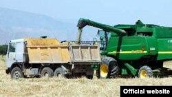 Сбор зерна, Туркменистан (архивное фото)