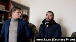 Фарух Камалов в суде. Херсон, 2 марта 2018 года, фото информационного сайта «Мост»