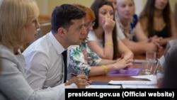 Встреча президента Зеленского с родственниками украинских моряков, 14 июня 2019 года
