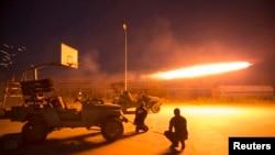 مقاتلو الحشد الشعبي في صلاح الدين في 3 آذار 2015