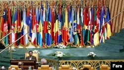 رهبران اکثر کشورهای اروپايی و آمريکا در کنفرانس دوحه که توسط دبير کل سازمان ملل متحد و مقامهای قطرترتيب داده شده، حضور ندارند. (عکس: فارس)