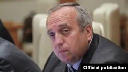 "Russia -- Franz Klintsevich, Russian Duma member (""United Russia""), Moscow"