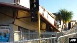 Objekte të dëmtuara nga tërmeti në Zelandën e Re