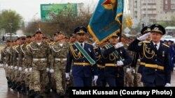Военнослужащие Казахстана. Иллюстративное фото.