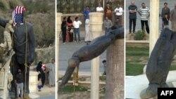 Повалення пам'ятника Саддаму Хусейну в Багдаді (архівні фото)