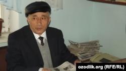 """""""Ush sadosi"""" editor in chief Muhammadsoli Ismoilov"""