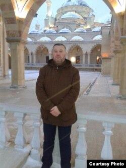 Андрей Кобишев, масажист з Волгограду, який зник без вісти у березні 2017 року в Чечні