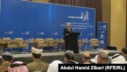 محافظ نينوى اثيل النجيفي يتحدث في المنتدى، 26 آذار 2015