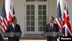 Американскиот претседател Барак Обама и британскиот премиер Дејвид Камерон