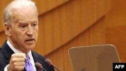 Vice-președintele american Joe Biden la sediul UE din Bruxelles