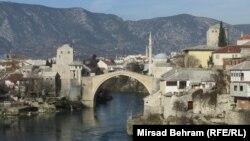 Pogled na Stari most, Mostar
