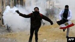 میدان تحریر قاهره. ۲۵ ژانویه ۲۰۱۳.