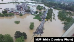 Поплави во Обреновац, Србија.