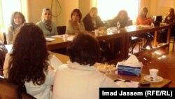 إجتماع لناشطات عراقيات
