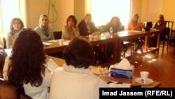 ناشطات يناقشن في بغداد مشروع قانون المرأة