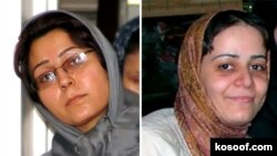 ناهيد کشاورز و محبوبه حسين زاده از روز سيزدهم فروردين ماه در زندان اوين به سر می برند.