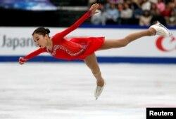 Тұрсынбаева әлем чемпионатында. Сайтама, 22 наурыз 2019 жыл.