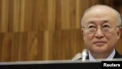 یوکیو آمانو، مدیرکل آژانس بین المللی انرژی اتمی در گزارش های خود درباره برنامه هسته ای ایران زبان تندتری را به کار گرفته است.