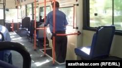 Awtobuslarda maýyplar üçin ýörite şertler döredilmändir.
