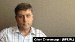 Сергей Уткин, заңгер. Астана, 9 қыркүйек 2013 жыл.