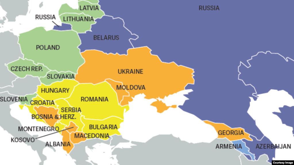 Украина прогрессирует на пути демократии, - доклад Freedom House - Цензор.НЕТ 1486
