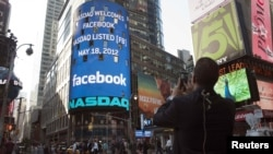 Facebook's share price has dropped 25 percent from its initial public offering of $38 on May 18.