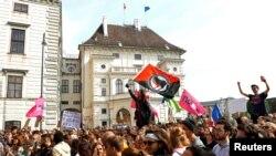 """Proteste la Viena după anunțul scandalului """"Ibizagate"""""""