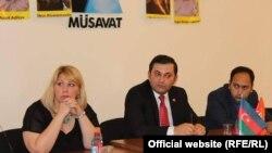 Самира Агаева и Руслан Иззятли