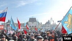 Russian protests against unemployment, rising prices, and falling living standards in February.