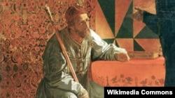 """Фрагмент картины """"Иван Грозный и Малюта Скуратов"""""""