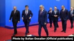 Главы стран-участниц ЕАЭС, 29 мая 2019 г.