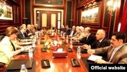 اجتماع بين قادة العراقية والتحالف الكردستاني في اربيل السبت