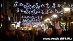 Praznična atmosfera u Beogradu